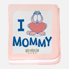 Baby ARLENE, Heart Mommy, baby blanket
