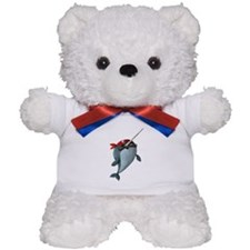 Pirate Narwhals Teddy Bear