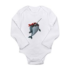 Pirate Narwhals Body Suit