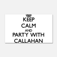 Keep calm and Party with Callahan Wall Decal