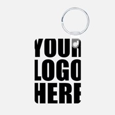 Your Logo Here Personalize It! Keychains