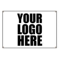 Your Logo Here Personalize It! Banner
