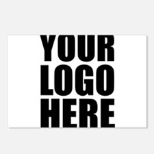 Your Logo Here Personalize It! Postcards (Package