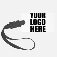 Your Logo Here Personalize It! Luggage Tag