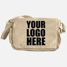 Your Logo Here Personalize It! Messenger Bag