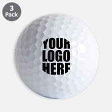 Your Logo Here Personalize It! Golf Ball