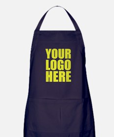 Your Logo Here Personalize It! Apron (dark)