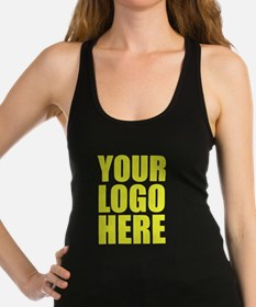 Your Logo Here Personalize It! Racerback Tank Top