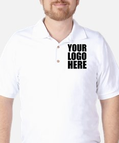 Your Logo Here Personalize It! Golf Shirt