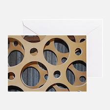 Industrial design circle Greeting Card
