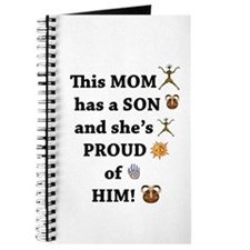 THIS MOM IS PROUD OF HER SON Journal