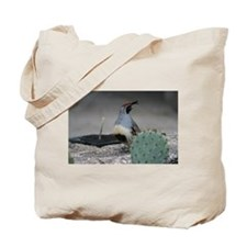 Gambels Quail in Sabino Canyon Tote Bag