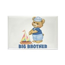 Sailorbear Middle Brother Rectangle Magnet