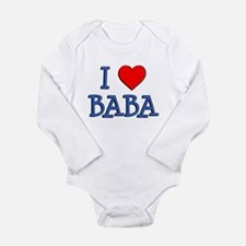 I Love Baba Body Suit
