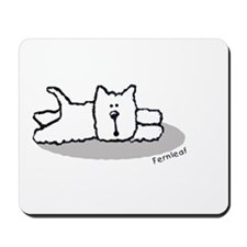 Cute Westie! Mousepad