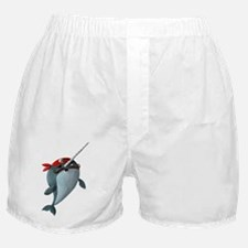 Pirate Narwhals Boxer Shorts