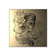 """The Gypsy of Relevance Square Sticker 3"""" x 3"""""""