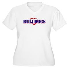 Bulldog gifts for women T-Shirt