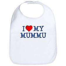 I Love My Mummu Bib