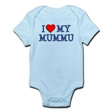 I Love My Mummu Body Suit