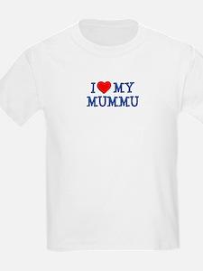 I Love My Mummu T-Shirt