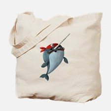 Pirate Narwhals Tote Bag