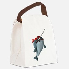 Pirate Narwhals Canvas Lunch Bag