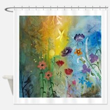 Mariposa Butterfly Shower Curtain