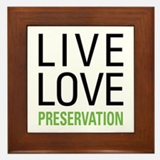 Preservation Framed Tile