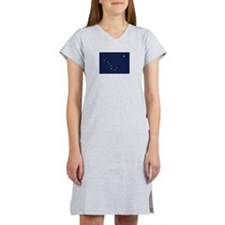 Flag of Alaska Women's Nightshirt
