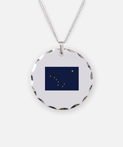 Flag of Alaska Necklace