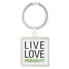 Probability Square Keychain