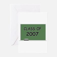 class 2007 chalkboard Greeting Cards (Pk of 10