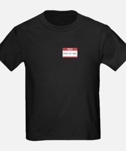 Name Tag Big Personalize It T-Shirt