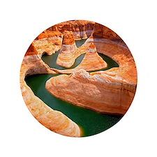 """Grand Canyon - Colorado River 3.5"""" Button"""