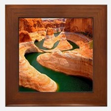 Grand Canyon - Colorado River Framed Tile