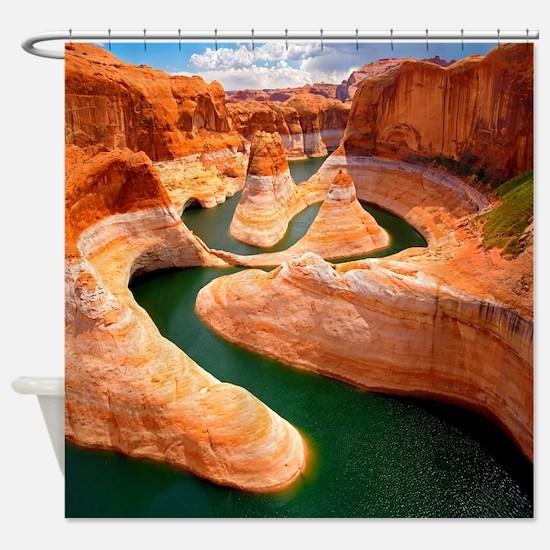 Grand Canyon - Colorado River Shower Curtain