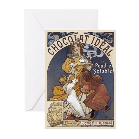 Chocolate Greeting Cards (10 pak)