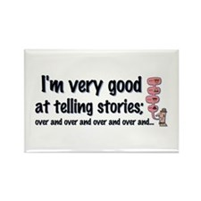 Telling Stories Rectangle Magnet