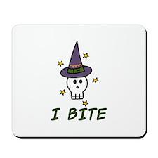 I Bite Mousepad