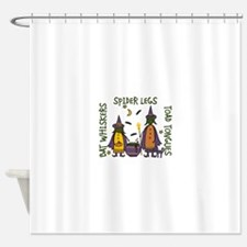 Witch Spells Shower Curtain
