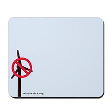 No Turbines Mousepad