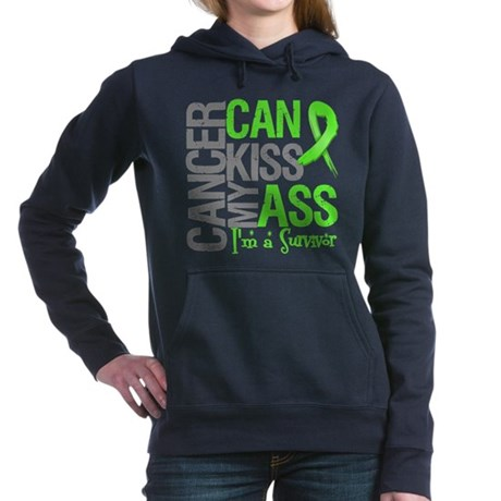 Lymphoma Cancer Can Kiss My Ass Women's Hooded Swe