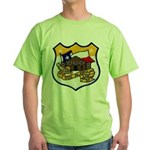 USS ALAMO Green T-Shirt