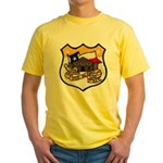 USS ALAMO Yellow T-Shirt