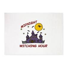 MIDNIGHT WITCHING HOUR 5'x7'Area Rug