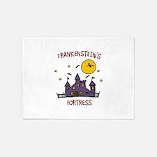 FRANKENSTEINS FORTRESS 5'x7'Area Rug