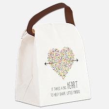 Cute Teacher Canvas Lunch Bag