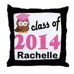 Class Of 2014 custom Throw Pillow