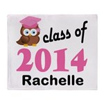 Class Of 2014 custom Throw Blanket